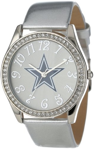 Game Time Women's NFL-GLI-DAL Glitz Classic Analog Dallas Cowboys Watch at Amazon.com