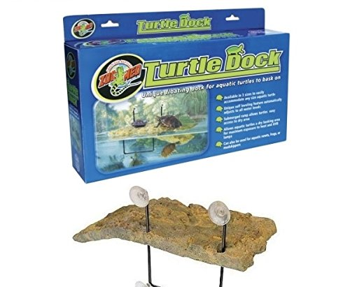 Zoo Med Turtle Dock - Isola galleggiante con rampa, in varie misure (Small)