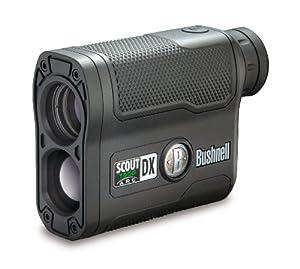 Bushnell Scout DX 1000 ARC 6 x 21mm Laser Rangefinder, Black