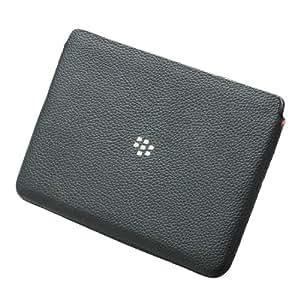 Black Leather Sleeve En/Fr Pack F/ Playbook (vf)