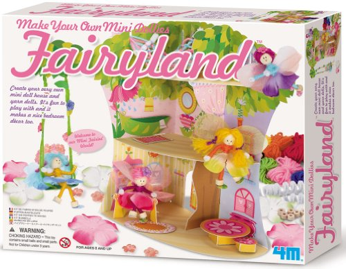 Toysmith 4M Fairyland Dollies #3467