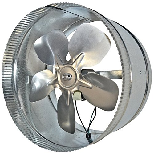 "Suncourt 10"" Round In-Line Air Duct Booster Fan 115 Volt # T9-Mcm10"