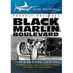 Inside Sportfishing: Black Marlin Boulevard with Ted Williams, circa 1954