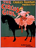 THEATRE VAUDEVILLE CIRCUS GIRL USA VINTAGE ADVERTISING POSTER RETRO PRINT 12x16 inch 30x40cm 2209PY