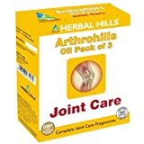 Herbal Hills Arthrohills Oil Bottle for Joint Pain Care - 100 ml (Pack of 3)