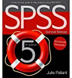 img - for [(The SPSS Survival Guide )] [Author: Julie Pallant] [Aug-2013] book / textbook / text book