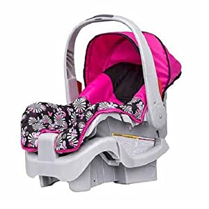 evenflo nurture infant car seat pink baby. Black Bedroom Furniture Sets. Home Design Ideas