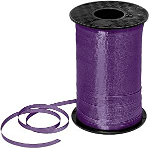 Purple Curling Ribbon 450yds