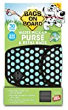 Bags On Board Purse Dispenser, 30 Bags, Polka Dot
