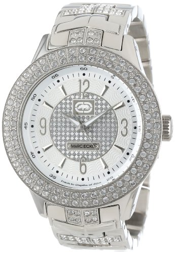 Marc Ecko Men'S E16533G1 Silver Iced Watch front-302311