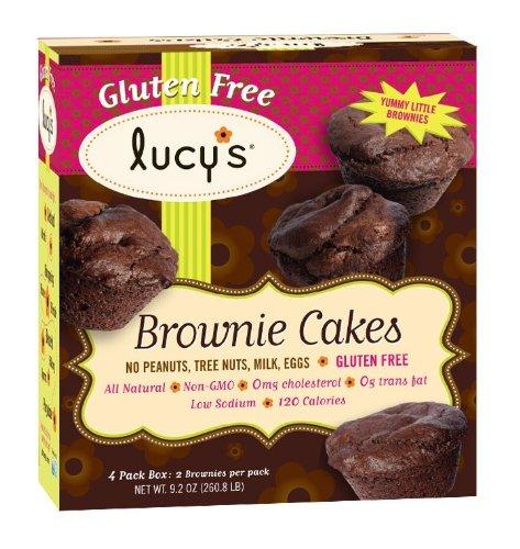 Lucy's Gluten Free Brownie Cakes (8.2oz)