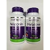 Natrol Fast Dissolve Melatonin Tablets 10 mg, Strawberry 60 ea (Pack of 2)