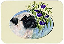 Carolines Treasures SS8064JCMT Pug Kitchen or Bath Mat, 24 by 36 , Multicolor