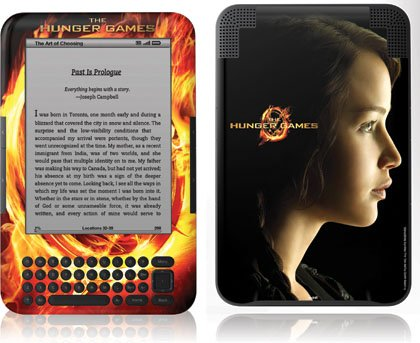 Skinit The Hunger Games -Katniss Everdeen Vinyl Skin for Amazon Kindle 3