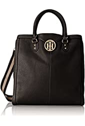 Tommy Hilfiger Maggie Pebble NS Tote Top Handle Bag