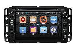 See Pumpkin 7 inch For GMC Sereies Chevrolet Chevy Avalanche 07-11/Silverado 07-13/Suburban 07-12/Tahoe 07-13/Traverse 08-12/Impala 06-13/Equinox 04-09/Monte Carlo 06-07 In Dash HD Touch Screen Car DVD Player SD/USB/GPS/Bluetooth/FM/AM Radio Stereo Navigation Details