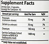 Hamilton Healthcare Garcinia Cambogia Extreme Natural Supplement, 90 Count