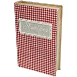 Gingham Recipe Book Storage Box