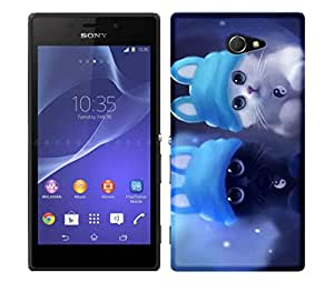 WOW Printed Designer Mobile Case Back Cover For SONY XPERIA M2 / M2 DUAL
