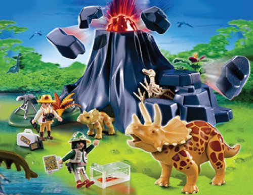 Playmobil - 4170 Triceratops with Baby