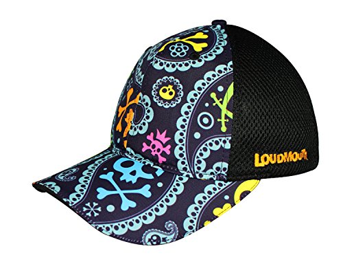 loudmouth-trucker-hat-jolly-roger-unisex