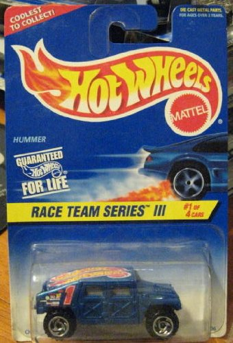 Hot Wheels Race Team Series III Hummer 1/4 #533 1:64 Scale - 1