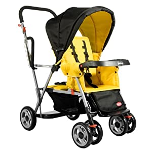 Joovy Caboose Stand On Double Stroller 101 Shipped Save