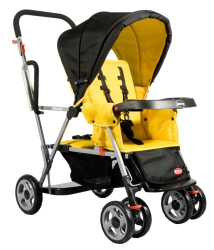 Read About Joovy Caboose Stand On Tandem Stroller, Lemontree
