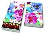 Kaminhölzer Watercolour flowers - Blumen aus Wasserfarben