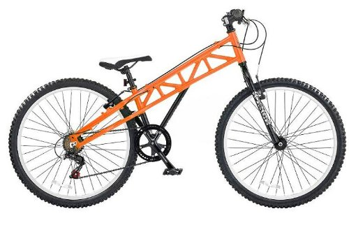 CBR Gatecrasher Men's Bike - Orange, 26 Inch