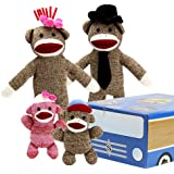 The Sock Monkey Family