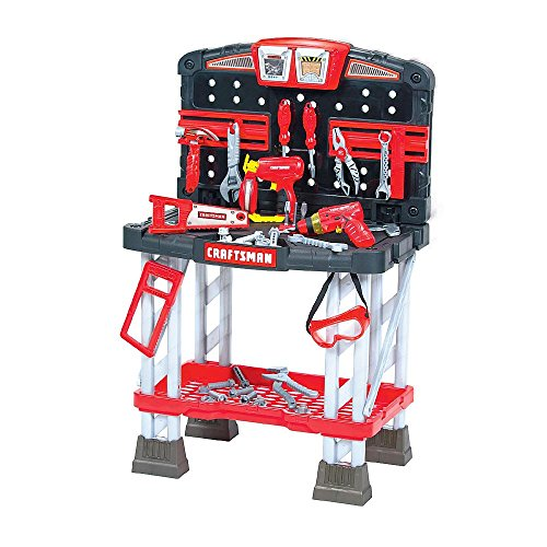 """Craftsman"" My First Workbench - 70 Piece - Ages 3 and Up"