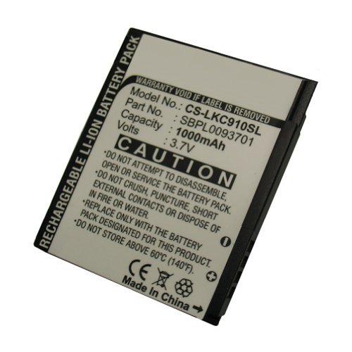 Bluetrade - Batterie Li-Ion 1000 Mah pour Lg Kc910