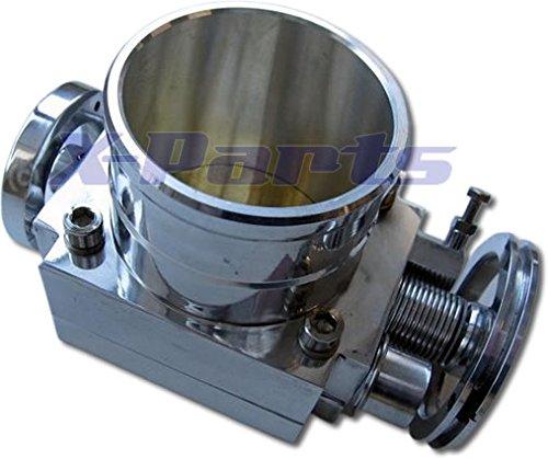 Drosselklappe--70mm-Kompressor-Turbo-Umbau-Aluminium-Aufnahme-fr-Poti-Neu
