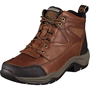 Ariat Terrain Womens Size 7 Brown Leather Hiking Boots