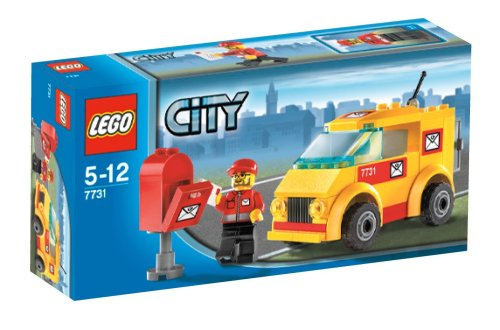 LEGO City 7731:  Mail Van