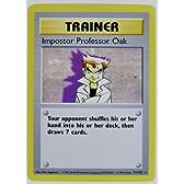 北米版ポケモンカード Impostor Professor Oak にせオーキド博士 73/102 TRAINER CARD
