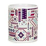 Chumbak Ikat Pencil Coffee Mug, 300ml