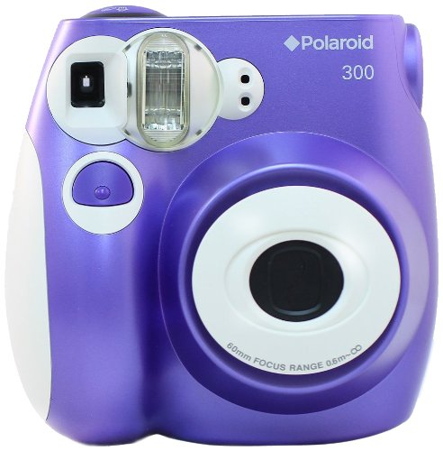 Fantastic Deal! Polaroid PIC-300P Instant Film Analog Camera (Purple)