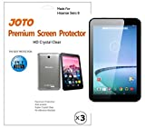Hisense Sero 8 Screen Protector - JOTO Ultra Crystal Clear (Invisible) version Screen Protector Film Guard for Hisense Sero 8 Tablet E2281, with Lifetime Replacement Warranty (3 Pack)