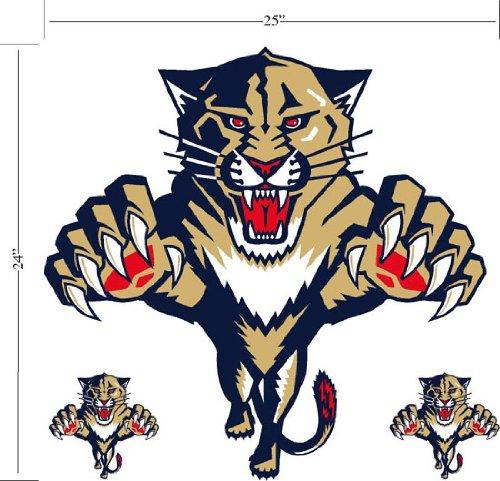 Florida Panthers Wallmarx Large Wall Decal