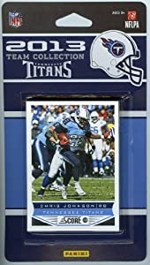 Tennessee Titans 2013 Score NFL Football Limited Edition Factory Sealed 9 Card... by Panini