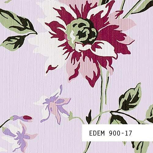 Tapeten MUSTER EDEM 900-Serie | Vliestapete Floral Designer Blumen Textiloptik, 900-XX:S-900-17