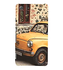 vintage automobile pic 3D Hard Polycarbonate Designer Back Case Cover for Sony Xperia SP :: Sony Xperia SP M35h