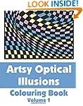Artsy Optical Illusions Colouring Boo...