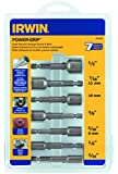 Irwin Industrial Tools 394100 Power-Grip Screw and Bolt Extractor Set, 7-Piece