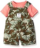 The Childrens Place Baby Dino Shortall, Capers, 0-3 Months
