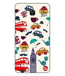 Designer Xiaomi Redmi 2 Case Cover Nutcase -Simply London !