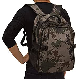 buy runlikebaby diaper backpack with changing pad travel diaper bag camo o. Black Bedroom Furniture Sets. Home Design Ideas