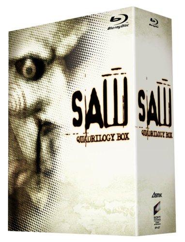 ソウ クアドリロジーBOX(4枚組) [Blu-ray]